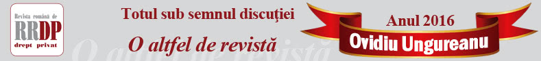 Revista Română de Drept Privat