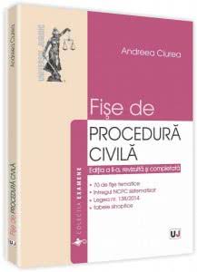 Andreea Ciurea - Fise de procedura civila