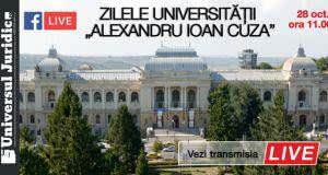"""[Înregistrările video] Zilele Universității """"Alexandru Ioan Cuza"""" din Iași 2016"""
