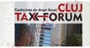 Invitație la a doua ediție a conferinței CLUJ TAX FORUM