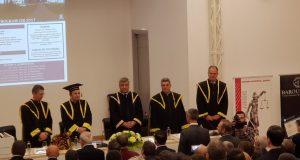 [Cum a fost] Ceremonia de decernare a titlului de Doctor Honoris Causa domnului prof. univ. dr. Tudorel Toader