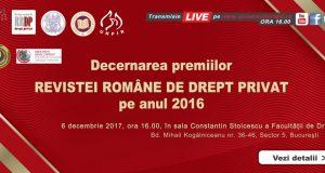 Ceremonia de decernare a PREMIILOR RRDP 2016