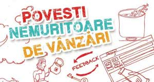 """Lansare de carte: """"Povești nemuritoare de vânzări. Trăite și povestite de vânzători din România"""""""
