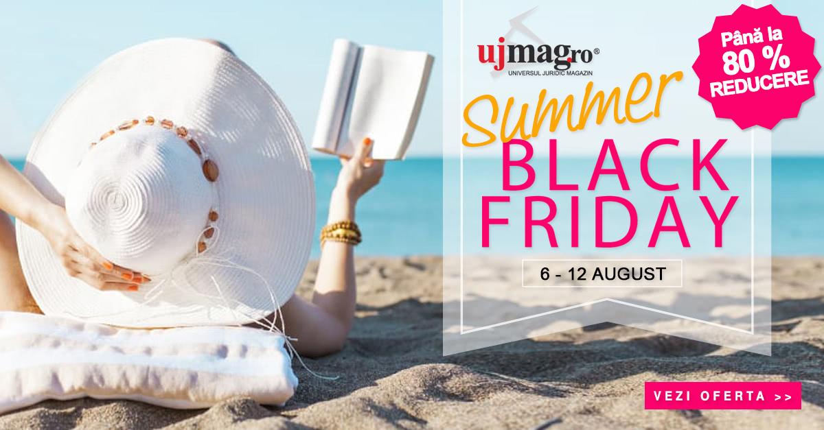 Summer Black Friday pe UJmag.ro