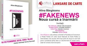 """[CUM A FOST] Lansare de carte: """"#FakeNews. Noua cursă a înarmării"""""""