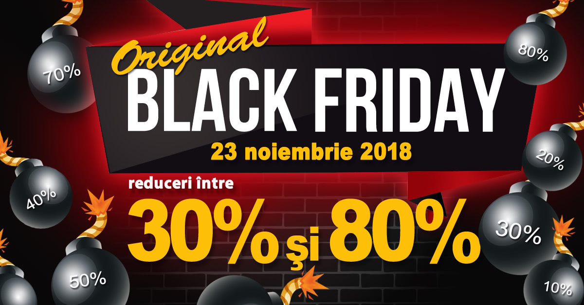 Original Black Friday UJmag.ro 2018