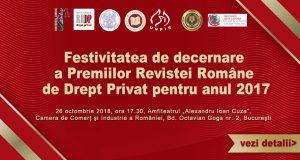 [CUM A FOST] Festivitatea de decernare a Premiilor RRDP pentru anul 2017