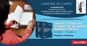 """[CUM A FOST] Lansare de carte la Facultatea de Științe Juridice, Sociale și Politice, Universității """"Dunărea de Jos"""" din Galați"""