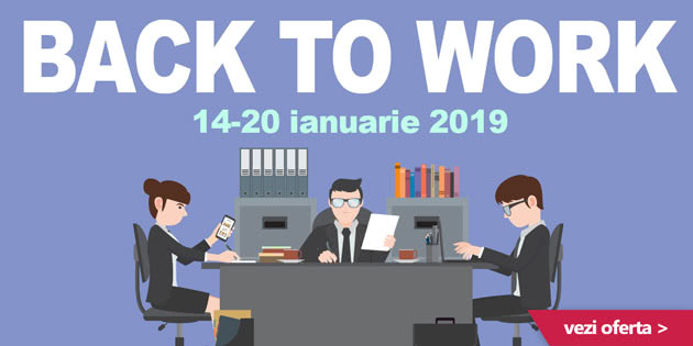 Back To Work pe UJmag.ro 2019