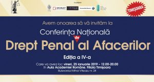 Conferința națională de Drept penal al afacerilor, ediția a IV-a