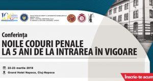 """[CUM A FOST] Conferința """"Noile Coduri penale la 5 ani de la intrarea în vigoare"""""""