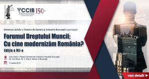 """[CUM A FOST] Conferința """"Forumul Dreptului Muncii. Cu cine modernizăm România?"""""""
