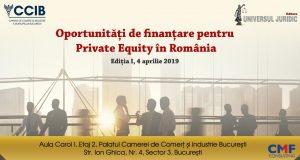 Oportunități de finanțare pentru Private Equity în România