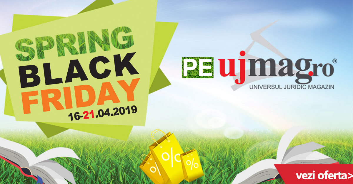 Campania Spring Black Friday pe UJmag.ro!