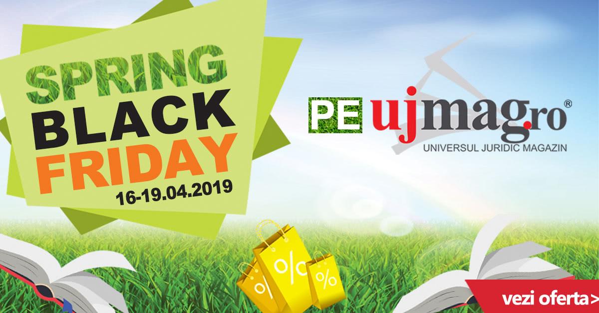Campania Spring Black Friday pe UJmag.ro!
