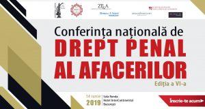 [CUM A FOST] Conferința națională de Drept Penal al Afacerilor, ediția a VI-a