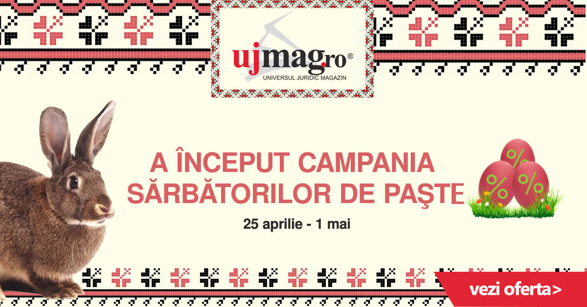 Campania Sarbatorilor de Paste pe UJmag.ro