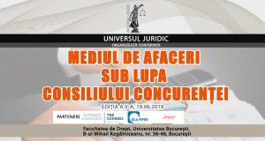 [CUM A FOST] Conferința Mediul de afaceri sub lupa Consiliului Concurenței, ediția a V-a