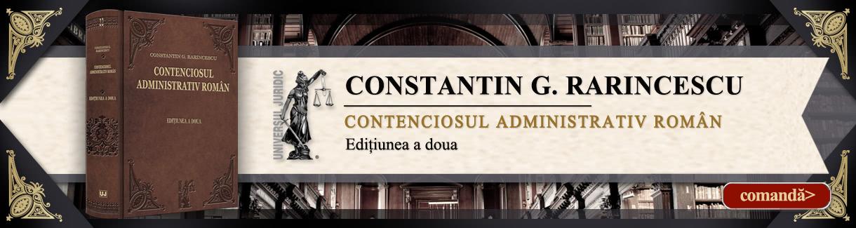 Rarincescu - Contenciosul administrativ roman1220X325