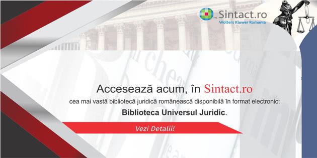 Biblioteca Universul Juridic Sintact