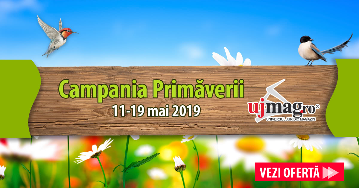 Camoania Primăverii pe UJmag.ro 2019