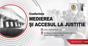 """Conferința """"Medierea și accesul la Justiție"""""""
