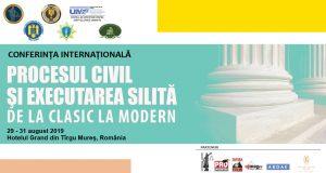 """[CUM A FOST] Conferința internațională """"Procesul civil și executarea silită. De la clasic la modern"""""""