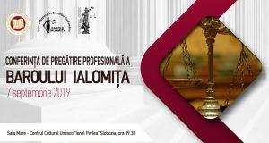 [CUM A FOST] Conferința de pregătire profesională a Baroului Ialomița