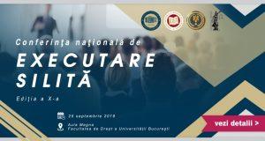 Conferința națională de executare silită, ediția a X-a