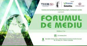 "Conferința ""Forumul de mediu"", ediția a V-a"