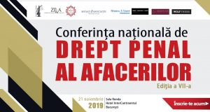 Conferința națională de Drept Penal al Afacerilor, ediția a VII-a