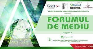 """[CUM A FOST] Conferința """"Forumul de mediu"""", ediția a V-a"""