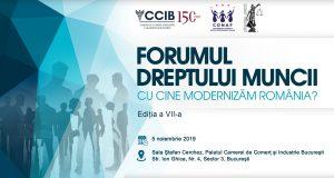 """[CUM A FOST]Conferința """"Forumul Dreptului Muncii; Cu cine modernizăm România?"""", ediția a VII-a"""