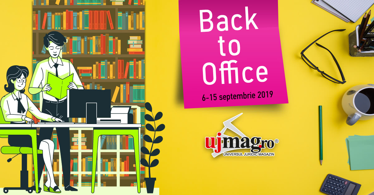 "A inceput campania ""Back to Office"" pe UJmag.ro!"