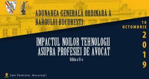 """[CUM A FOST] Conferința """"Impactul noilor tehnologii asupra profesiei de avocat"""""""