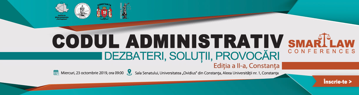 Smart Law - Codul administrativ Constanta 23 octombrie header portal