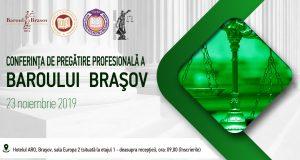 [CUM A FOST] Conferința de pregătire profesională a Baroului Brașov
