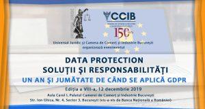 [CUM A FOST] Data Protection; Soluții și responsabilități – un an și jumătate de când se aplică GDPR, ediția a VIII-a