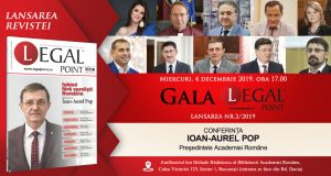 [CUM A FOST] Gala Legal Point nr. 2/2019 – Conferința acad. prof. univ. dr. Ioan-Aurel Pop