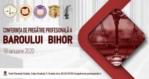 """[CUM A FOST] [UPDATE: Acreditare INPPA] Conferința de pregătire profesională a Baroului Bihor – """"Provocările profesiei de avocat pentru anul 2020"""""""
