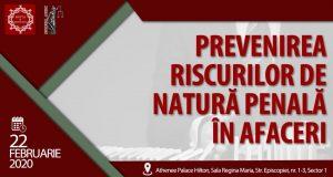 [CUM A FOST] Prevenirea riscurilor de natură penală în afaceri