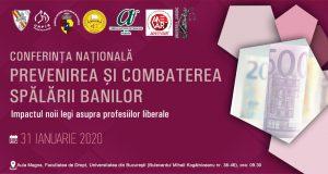 """[CUM A FOST] [UPDATE: Acreditare INPPA, INPPI] Conferința națională """"Prevenirea și combaterea spălării banilor. Impactul noii legi asupra profesiilor liberale"""""""