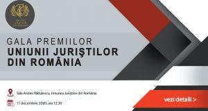 Gala Premiilor Științifice a Uniunii Juriștilor din România pe anul 2020, ediția a 29-a