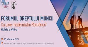 [CUM A FOST] [UPDATE: Acreditare INPPA] Forumul Dreptului Muncii; Cu cine modernizăm România? Ediția a VIII-a