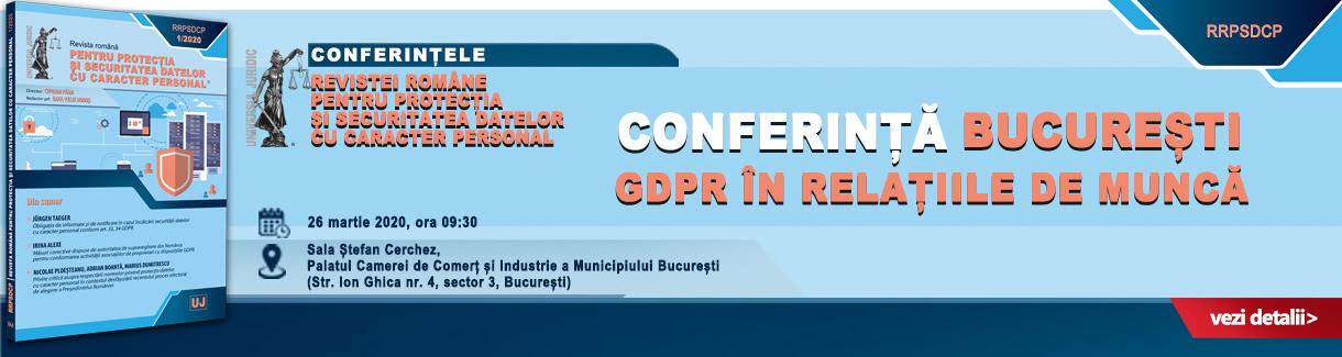 Conferintele GDPR bucuresti 1220