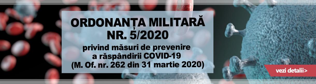 Ordonanta militara NR 5 1220