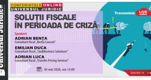 [CUM A FOST] Workshop online: Soluții fiscale în perioada de criză