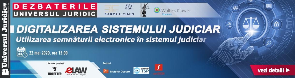 22 mai Digitalizarea sistemului judiciar 1220_1589876320