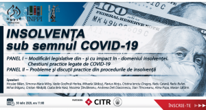 [CUM A FOST] Insolvența sub semnul COVID-19