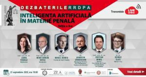 [CUM A FOST] Dezbaterile RRDPA, ediția a II-a: Inteligența artificială în materie penală
